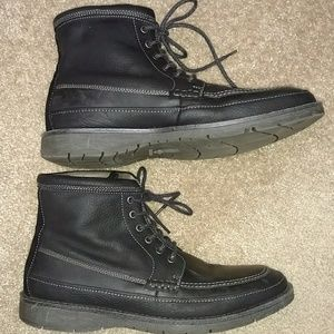 Dockers leather boots